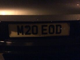 Private plate M20EOD