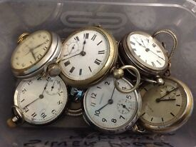 Pocket watches etc £120 the lot