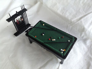 Dollhouse Miniature Pool Table Kitchener / Waterloo Kitchener Area image 1