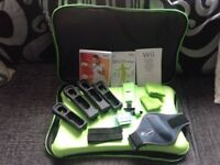 Wii balance board with accessories
