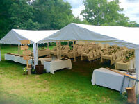 Event Tent Rentals Outdoor, tables, chairs, lighting, bar