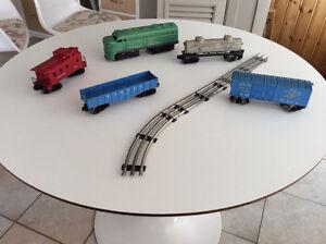 Train électrique Lionel usage