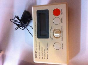 Omron digital blood pressure machine