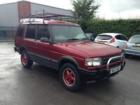 95 Land Rover discovery TDI auto limited edition no rust 12 months mot