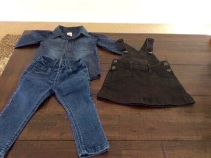 Denim clothes ----size 1
