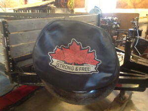 Trailer Spare Tire Cover