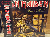 IRON MAIDEN PICTURE VINYL LP'S!  OUT OF PRINT - NEW/SEALED!!