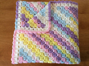 """Handmade Baby Blankets, 32"""" to 34"""" square"""