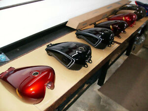 Honda Motorcycle Gas Tanks