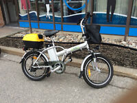 New - never used Emmo electric foldable compact bike