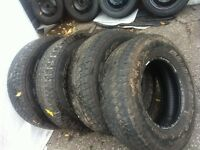 "Bridgestone  Duellers  A/T 265/70/16 "" All Four for $80"