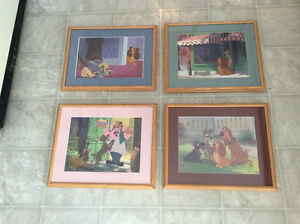 Framed  Authentic Disney lithorgraphs Comox / Courtenay / Cumberland Comox Valley Area image 2
