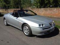 Alfa Romeo Gtv spider 2000 twins park lusso