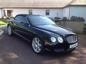 Bentley Continental 6.0 auto 2008 GTC TWIN TURBO, 49K, FSH, STUNNING CAR