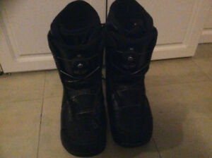 Like new Marrow snow board boots boa cable system size 10 men's