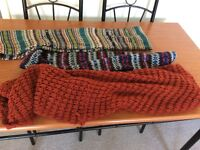 Snood scarves collection of 3