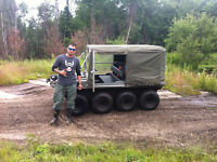 2002 ARGO RESPONSE 8x8 Amphibious ATV (Canvas Hard top)