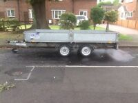 Ifor Williams LM 125G Flatbed Trailer