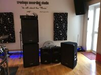 1000watt PA system for sales + additional speakers £500 for all