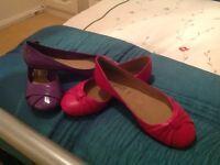 Ladies pumps size 6 £5.00 pair