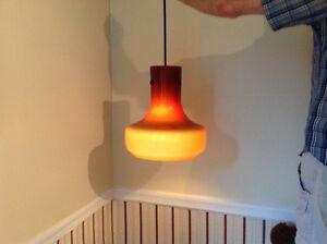LAMPE SUSPENDUE VINTAGE CIRCA 1955 MURANO PENDENT LAMP