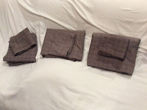 3 matching duvet cover sets --2 Queen, 1 Twin (with shams)