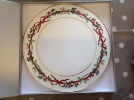 Royal Worcester Christmas plate