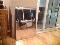 Large Mirror - all glass in perfect condition.