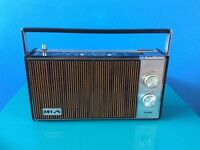 Vintage Retro HMV Arundel Transistor Radio