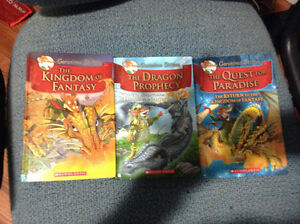 Geronimo Stilton Kingdom of Fantasy books for sale