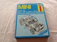 Classic mini Haynes manual
