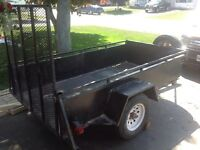 2003 advantage trailer 4x8 with ramp.$500 firm needs welding-rot