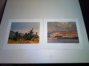 AJ Casson/Group of Seven, 2 piece set, Matching Numbers.*OBO*