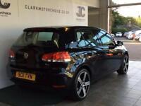 2011 Volkswagen Golf 1.6 TDI S 5dr Diesel black Manual