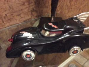 Batmobile Batman car Superbat toy collectible rare DC comics WD