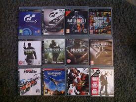 PS3 games £30