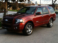 2008 FORD EXPEDITION LIMITED 4X4 - 8 PASS|NAV|DVD|TOW PKG
