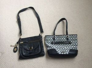 Fossil & Nine West Purses