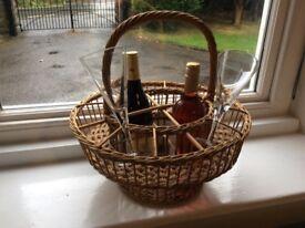 Vintage wine carrier