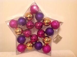 Brand New Box Or 2in Christmas Ornaments