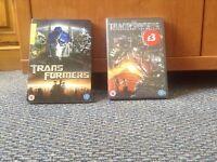 2 Transformers DVDS!!!