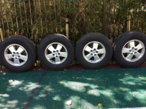 Tires & Alloy Rims for sale.