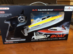 IN BOX RC FT007 RACING BOAT | Omnidirectional, 2.4ghz Wireless R