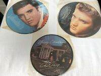 Three elvis vinyls