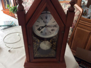 Vera's is 31 day mantle or wall clock wind up keeps perfect time