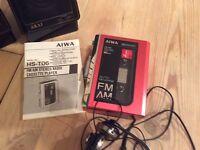 Portable Cassette/Radio