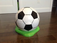 Petit pot ballon de soccer ** neuf **