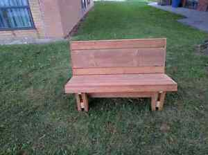Bench buy or sell patio garden furniture in ontario for Outdoor furniture kijiji