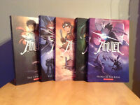 Amulet graphic novels - Books one to five