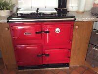 Rayburn 480 MK 11, oil fired.